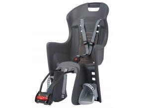 Dětská sedačka POLISPORT Boodie tmavěšedo-šedá