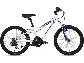 Dětské kolo  HOTROCK 20 6-SPEED GIRLS 2017 Sparkle White/Grape