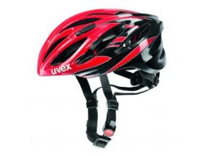 13 uvex helma boss race red black 1072885
