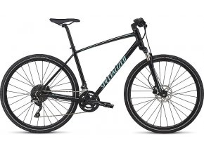 Krosové kolo Specialized  CROSSTRAIL ELITE INT 2017 GLOSS TARMAC BLACK/CHARCOAL/LIGHT TURQUOISE REFLECTIVE