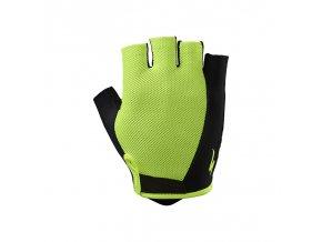 rukavice specialized bg sport glove neon yellow xl