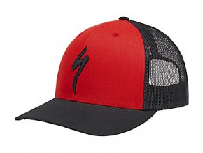 Flexfit® Trucket Hat Kšiltovka Specialized Red/Black
