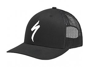 FLEXFIT® TRUCKET HAT kšiltovka Specialized Black/White