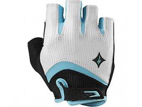 dámské rukavice Specialized BG GEL white/teal