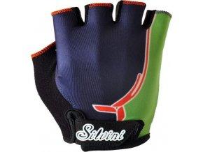 silvini detske rukavice punta ca848 navy green