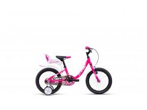 Dětské kolo CTM Marry růžovo-fialové