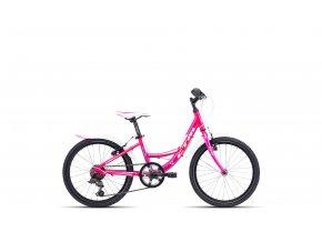 Dětské kolo CTM Ellie růžovo-fialové