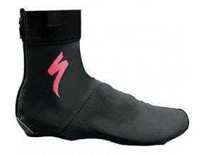 Návleky na boty SHOE COVER S-LOGO BLK/PINK vel.L