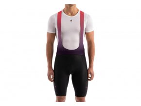 MensSagan BIB SHORT Red HERO