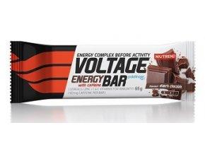 nutrend voltage energy bar s kofeinem 65 g vyprodej original