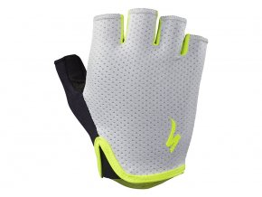 dámské rukavice Specialized BG Grail Short finger grey/neon yellow WMN