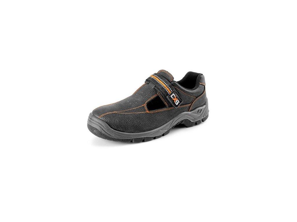 Obuv sandál CXS STONE NEFRIT O1, černý