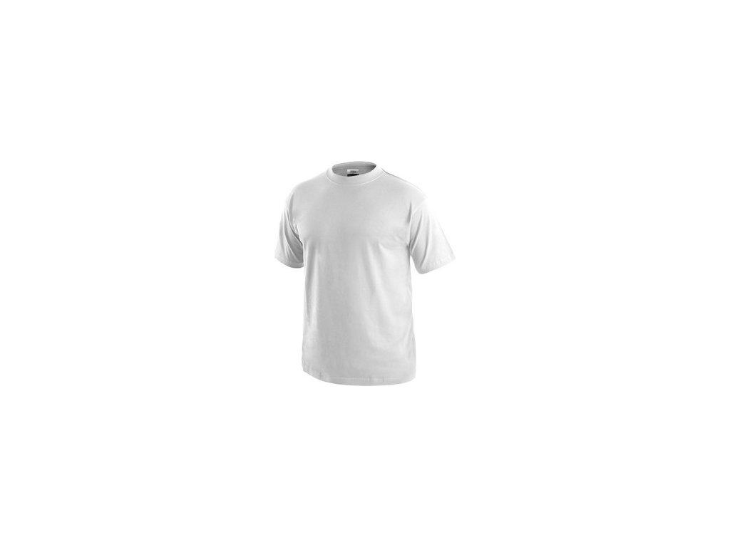 Tričko CXS DANIEL, krátký rukáv, bílé