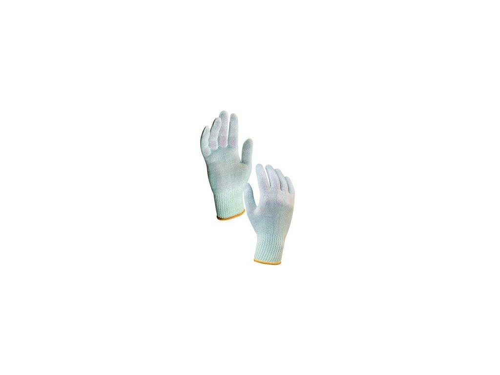 Textilní rukavice KASA, bílé