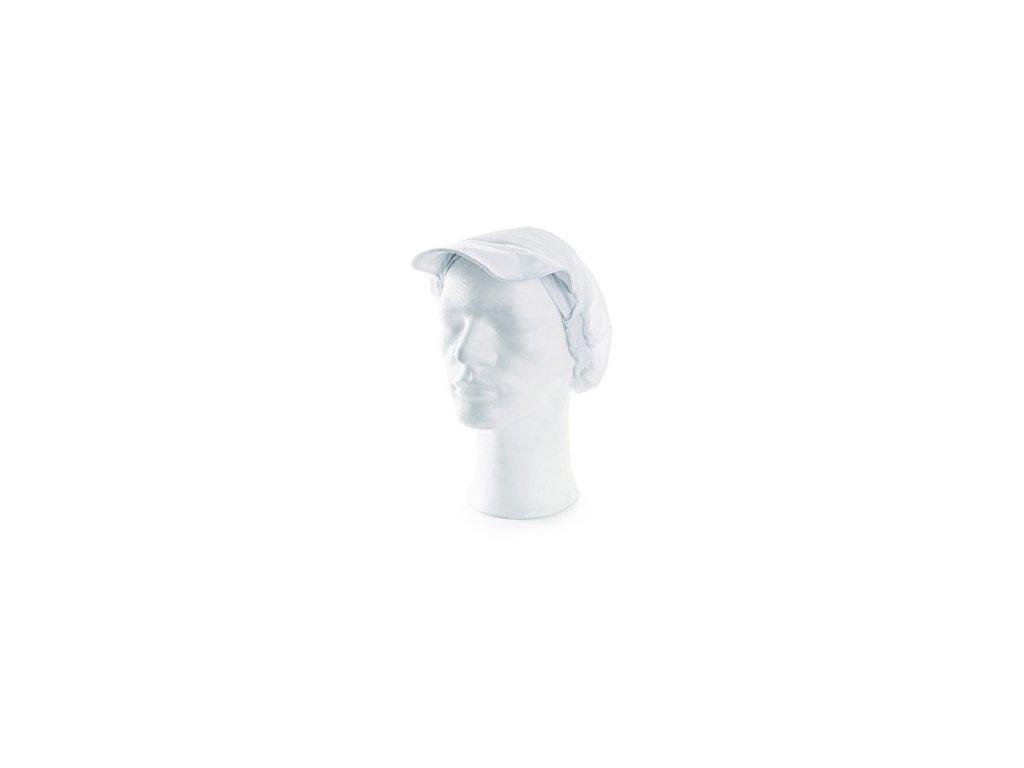 Kuchařská čepice NELA, bílá