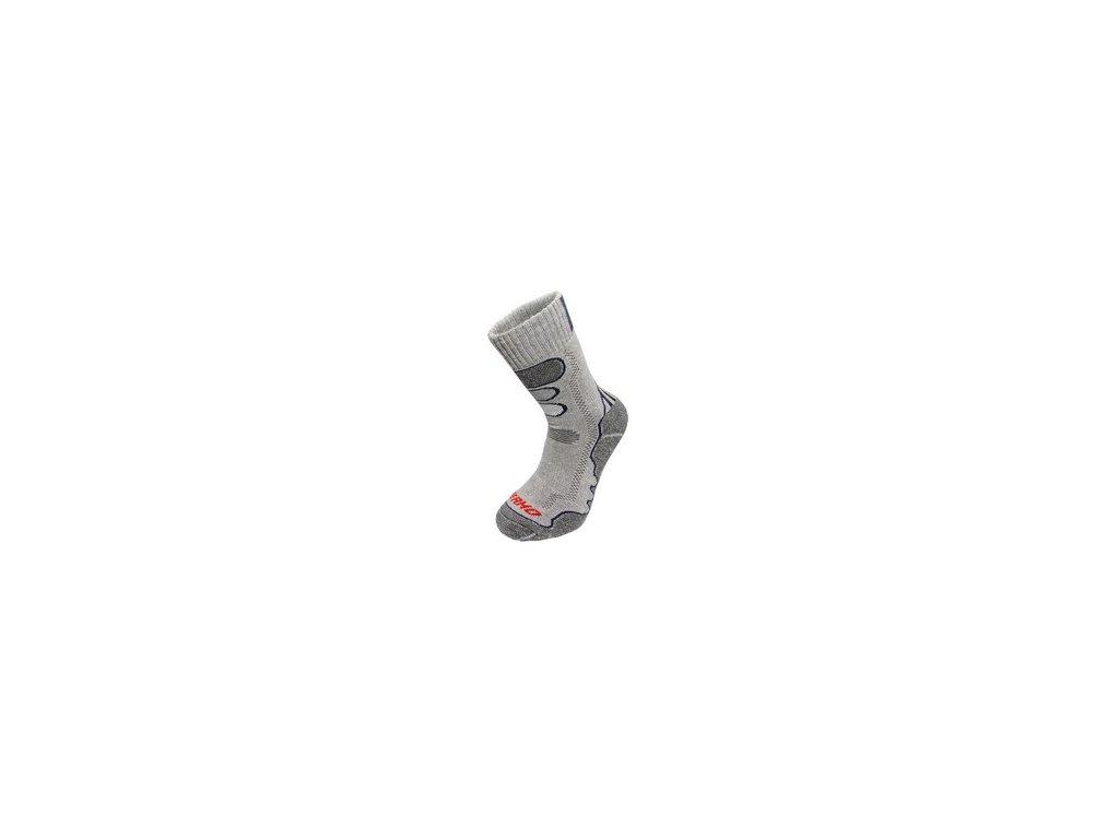 Zimní ponožky THERMOMAX, šedé