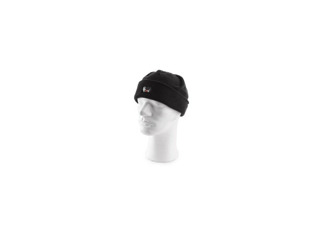 Zimní čepice OLEG, černá