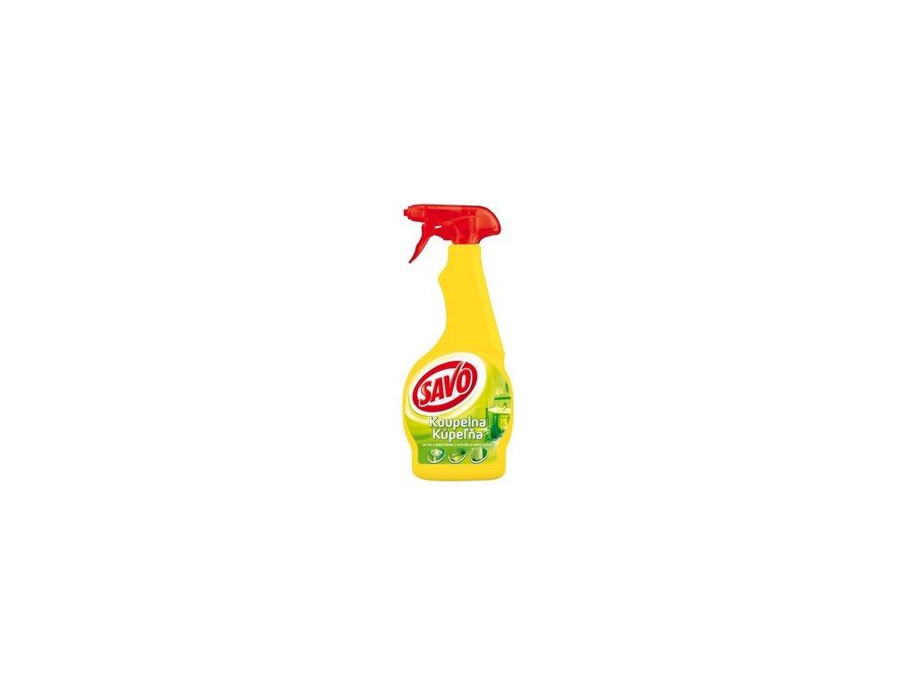 Desinfekční prostředek SAVO KOUPELNA, 500 ml