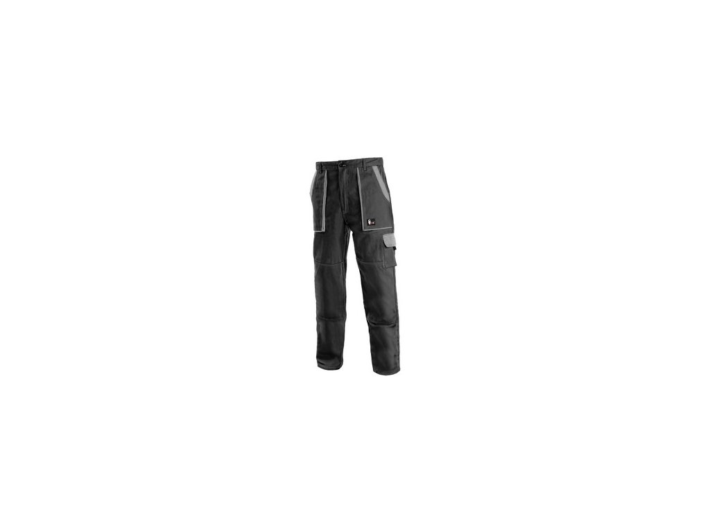 Kalhoty do pasu CXS LUXY JOSEF, pánské, černo-šedé