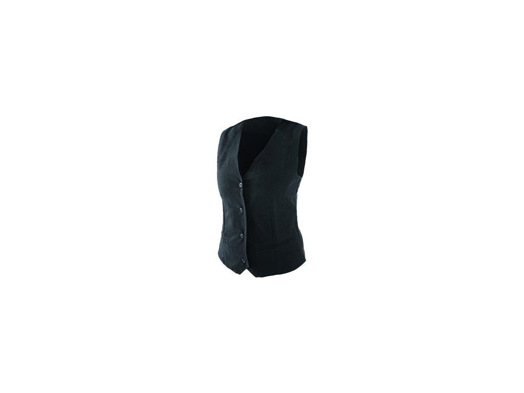 Dámská vesta pro servírky, černá