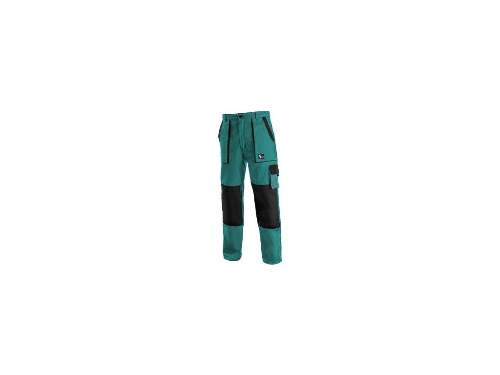 Kalhoty do pasu CXS LUXY JOSEF, prodloužené, pánské, zeleno-černé