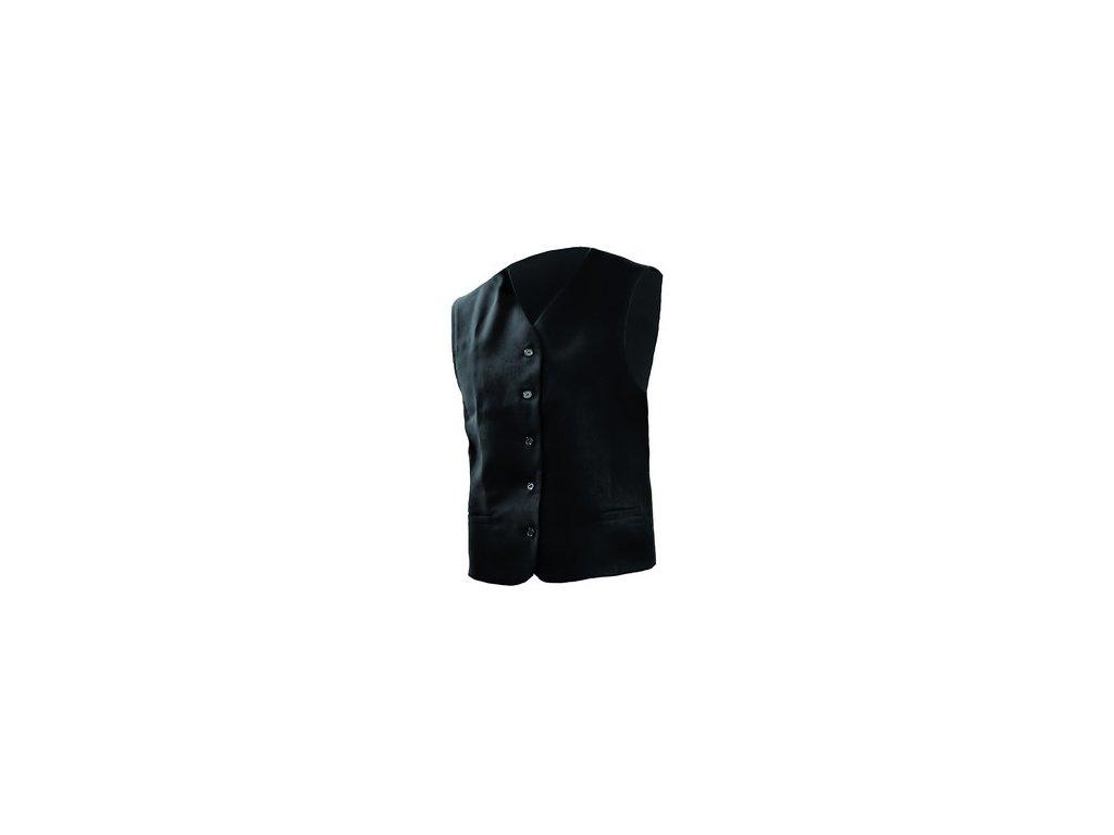 Pánská vesta pro číšníky, černá