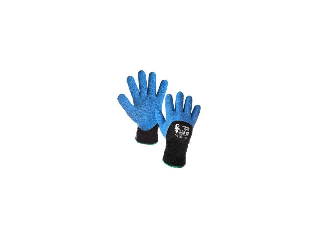 Povrstvené zimní rukavice ROXY BLUE WINTER, vel. 10