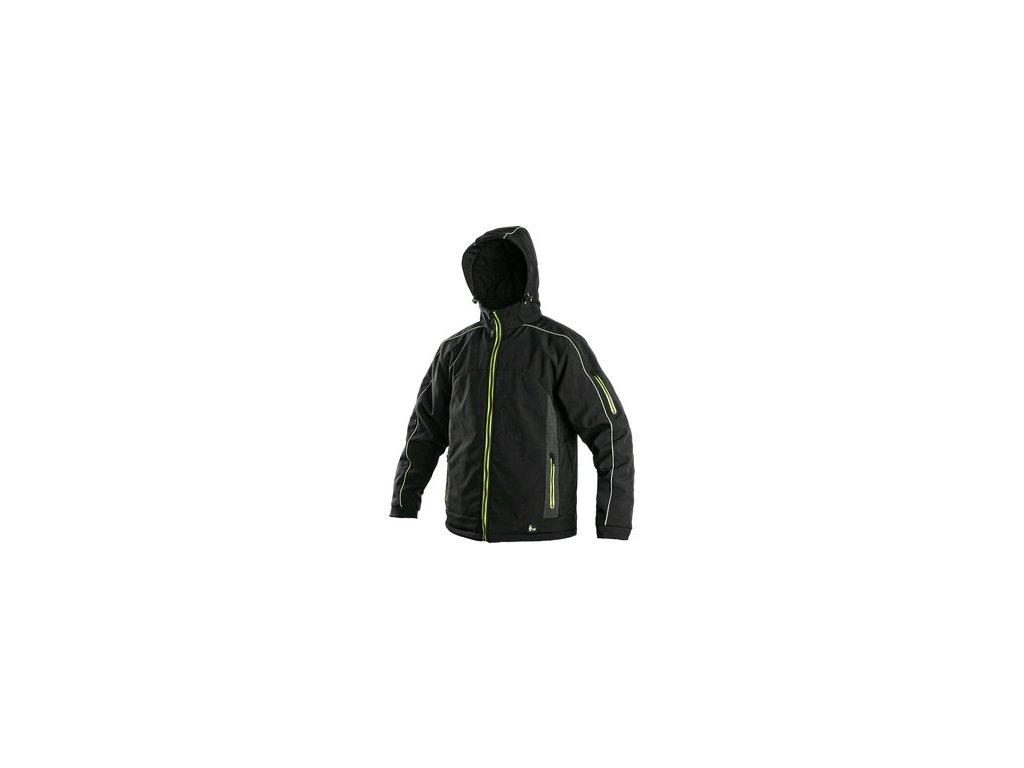 Pánská zimní bunda CXS VANCOUVER, černo-žlutá