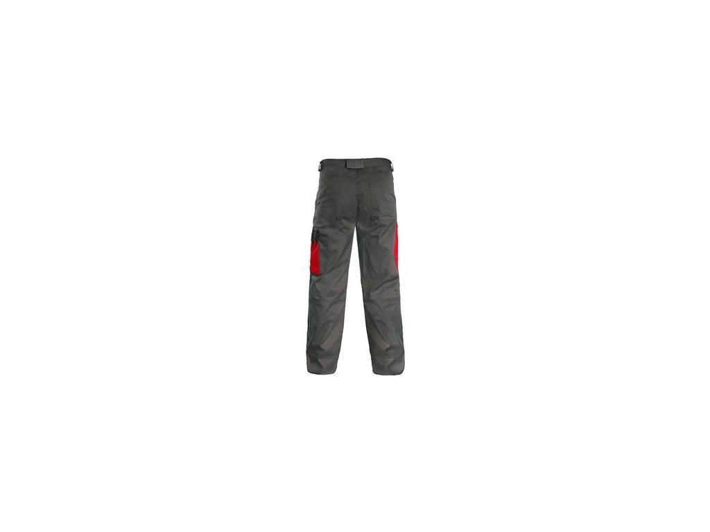 Kalhoty CXS PHOENIX CEFEUS, šedo-červená
