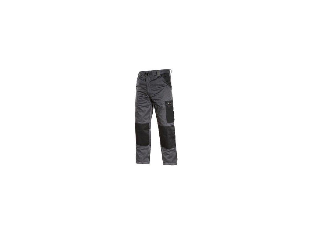 Kalhoty CXS PHOENIX CEFEUS, šedo-černá
