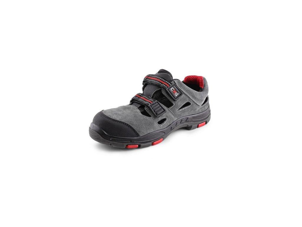 Obuv sandal CXS ROCK PHYLLITE S1P, šedá
