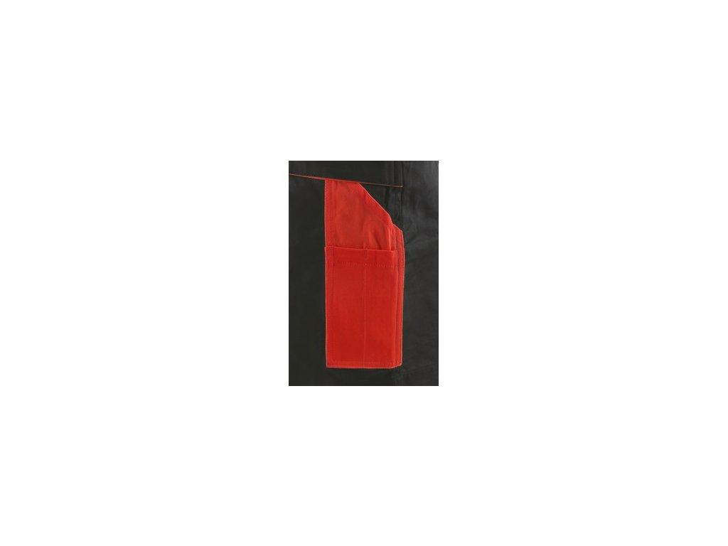 Kraťasy CXS SIRIUS BRIGHTON, pánské, šedo-červené