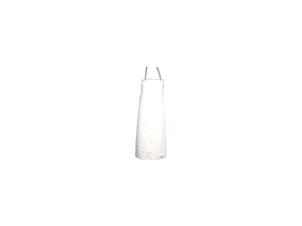 Zástěra Ansell PVC-45W, kyselin., bílá
