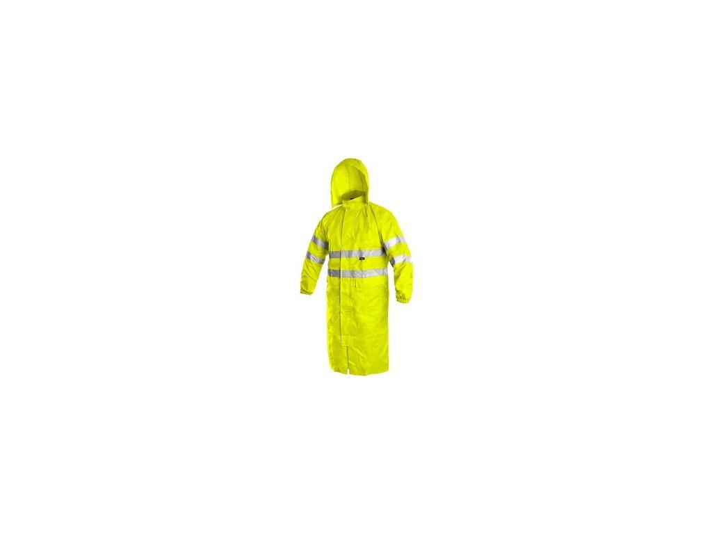 Plášť BATH, výstražný, žlutý