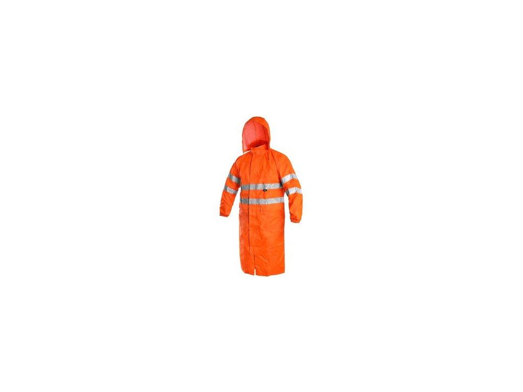 Plášť BATH, výstražný, oranžový
