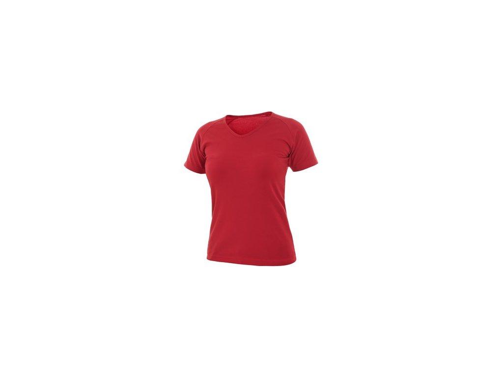 Tričko ELLA, dámské, červené