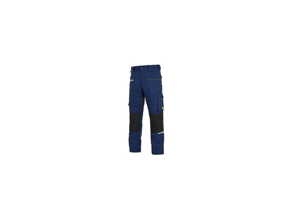 Kalhoty CXS STRETCH, pánské, tmavě modro-černé