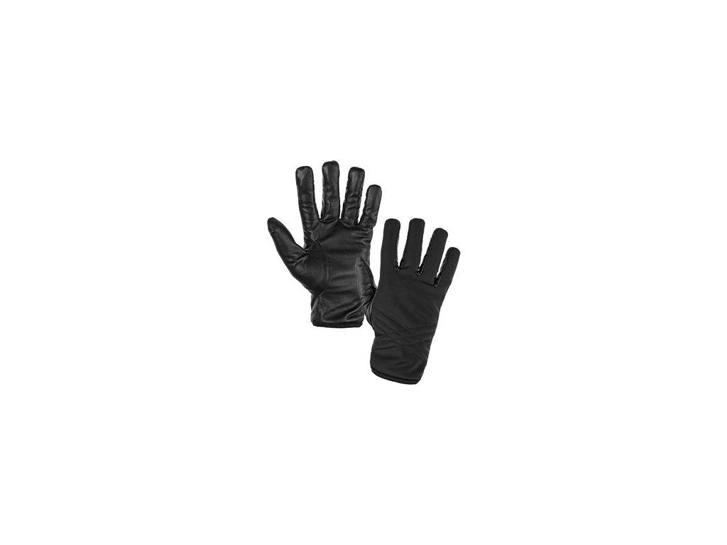 Rukavice zimní SIGYN, černé, vel. 10
