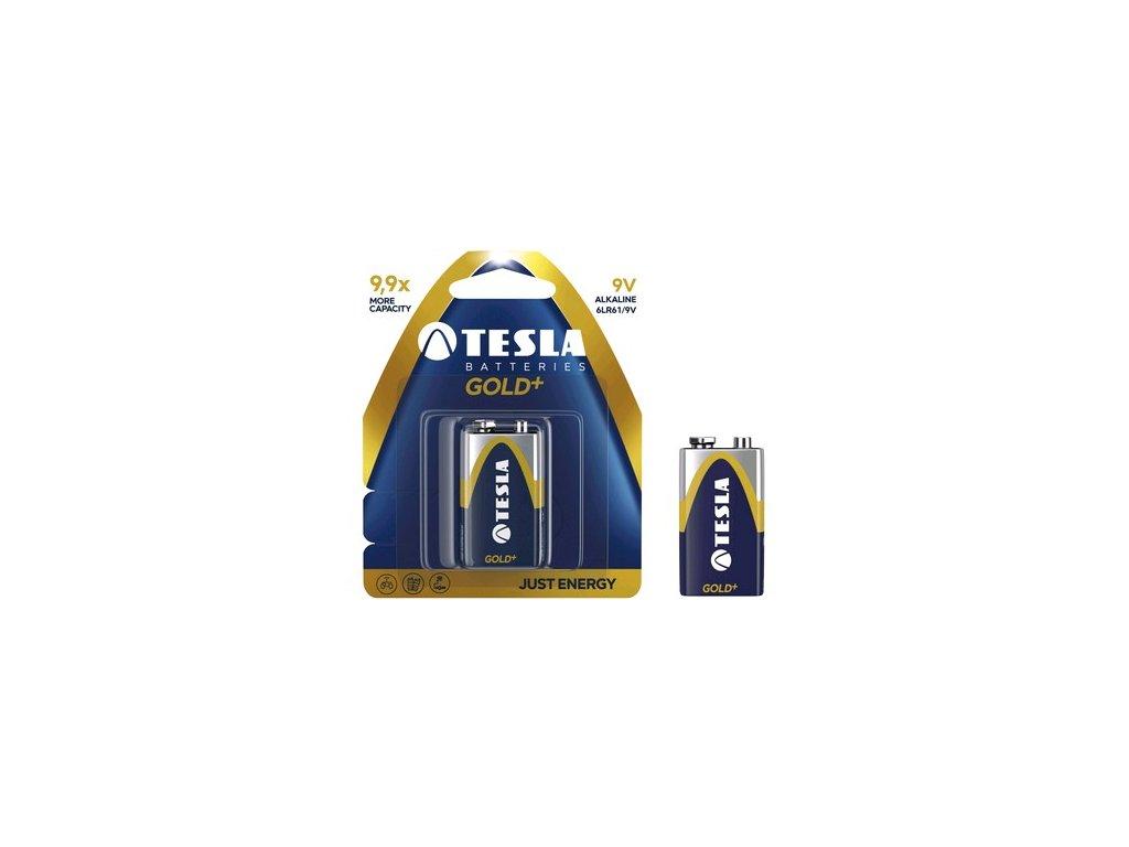 Baterie TESLA 9V GOLD+