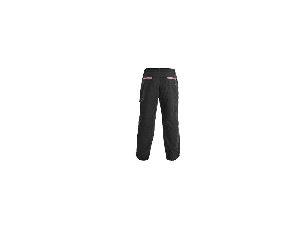 Kalhoty MONTREAL, pánské, černo-červené