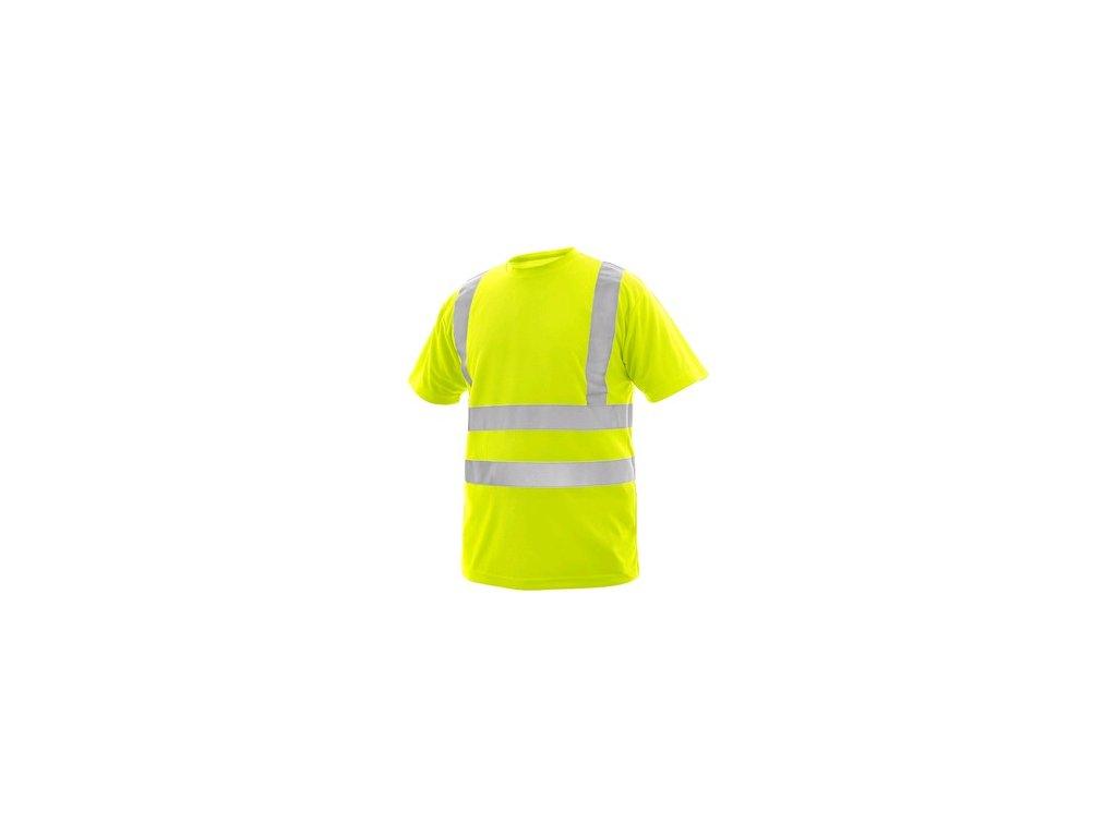 Tričko CXS LIVERPOOL, výstražné, pánské, žluté