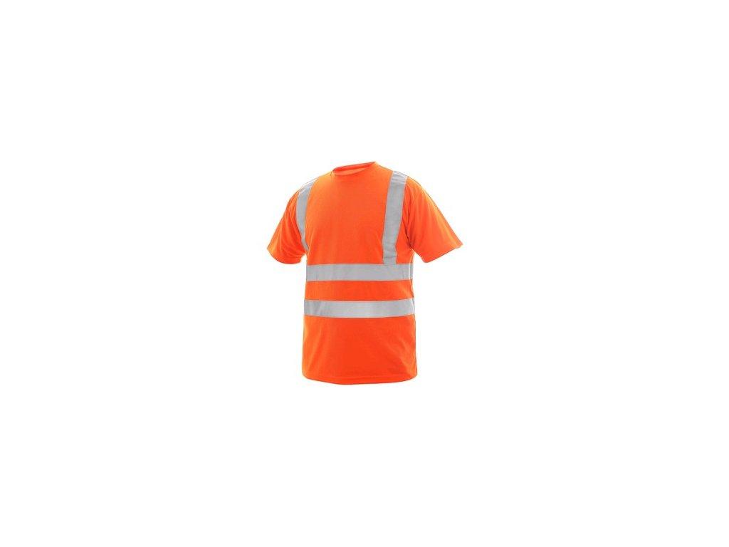 Tričko LIVERPOOL, výstražné, pánské, oranžové
