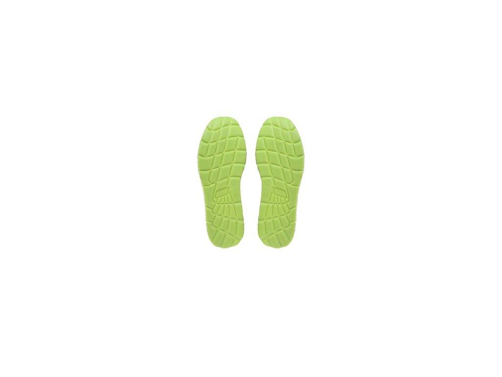 Obuv polobotka CXS TEXLINE OLIB S1P ESD, černo-zelená