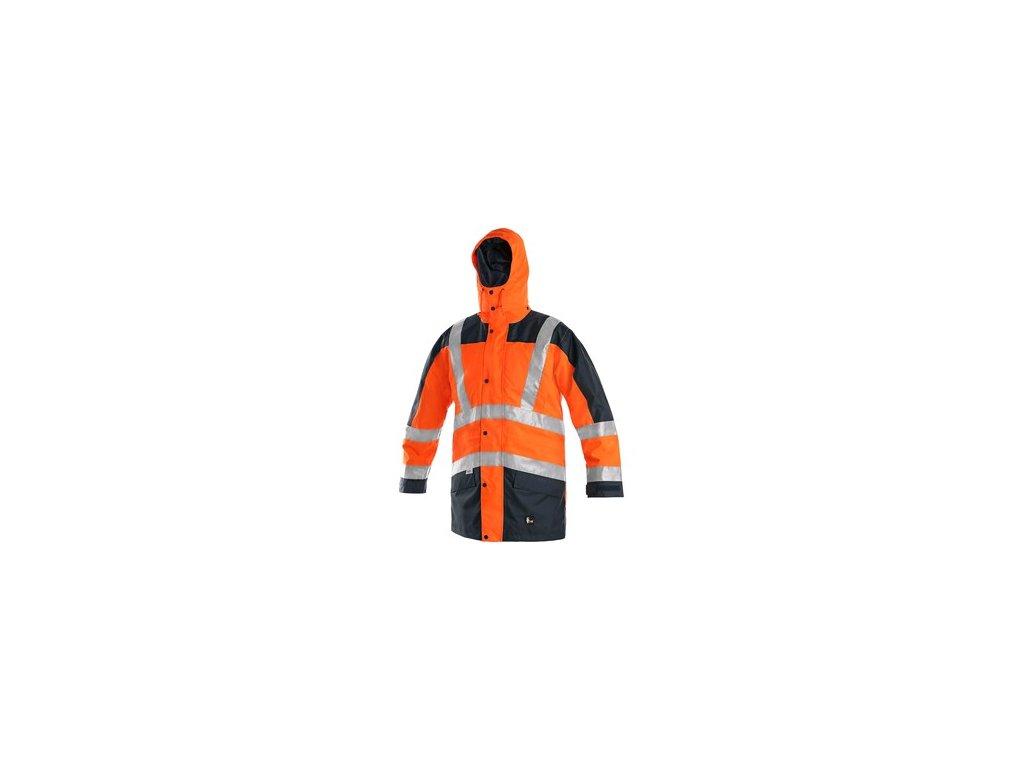 Výstražná bunda CXS LONDON, 5v1, pánská, oranžovo-modrá