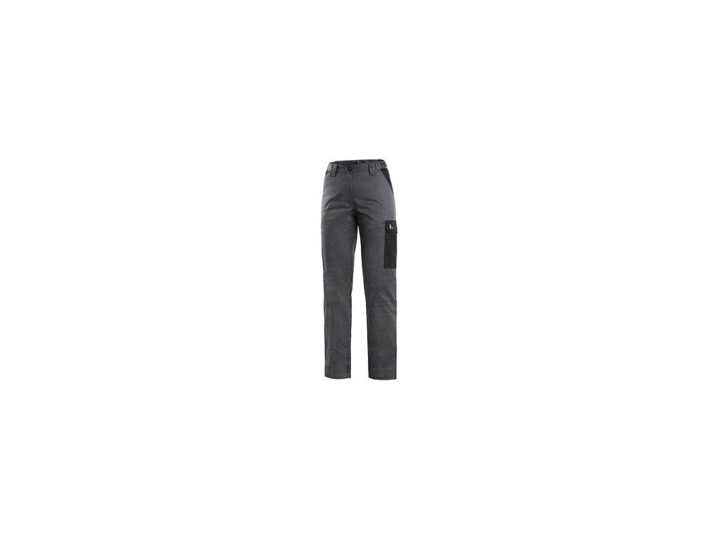 Kalhoty CXS PHOENIX MONETA, dámské, šedo - černé