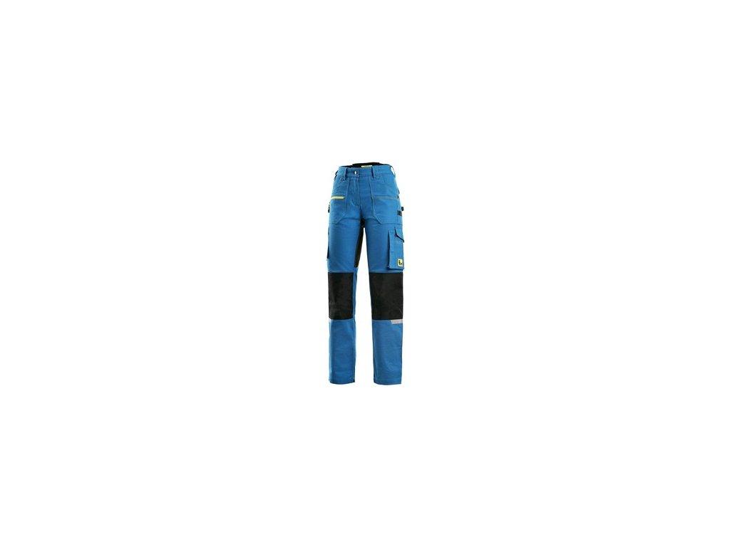 Kalhoty CXS STRETCH, dámské, středně modro - černé, vel. 56
