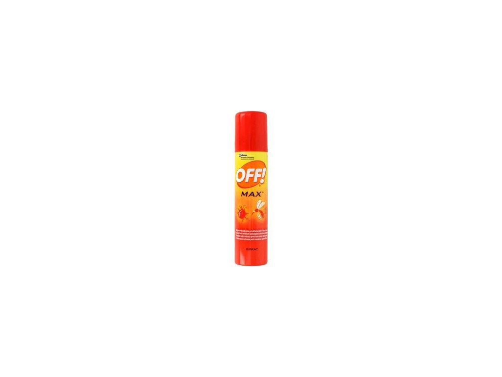 OFF Max repelentní  sprej 100 ml - SK
