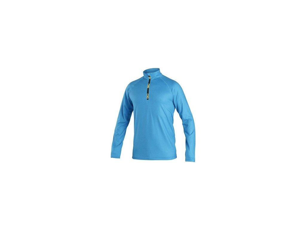 Mikina / tričko CXS MALONE, pánská, středně modrá