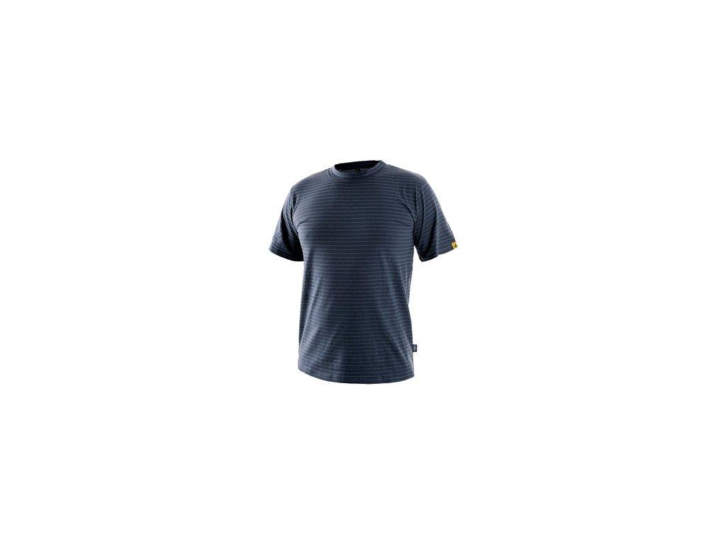 Tričko ESD CXS NOME, antistatické, tmavě modré