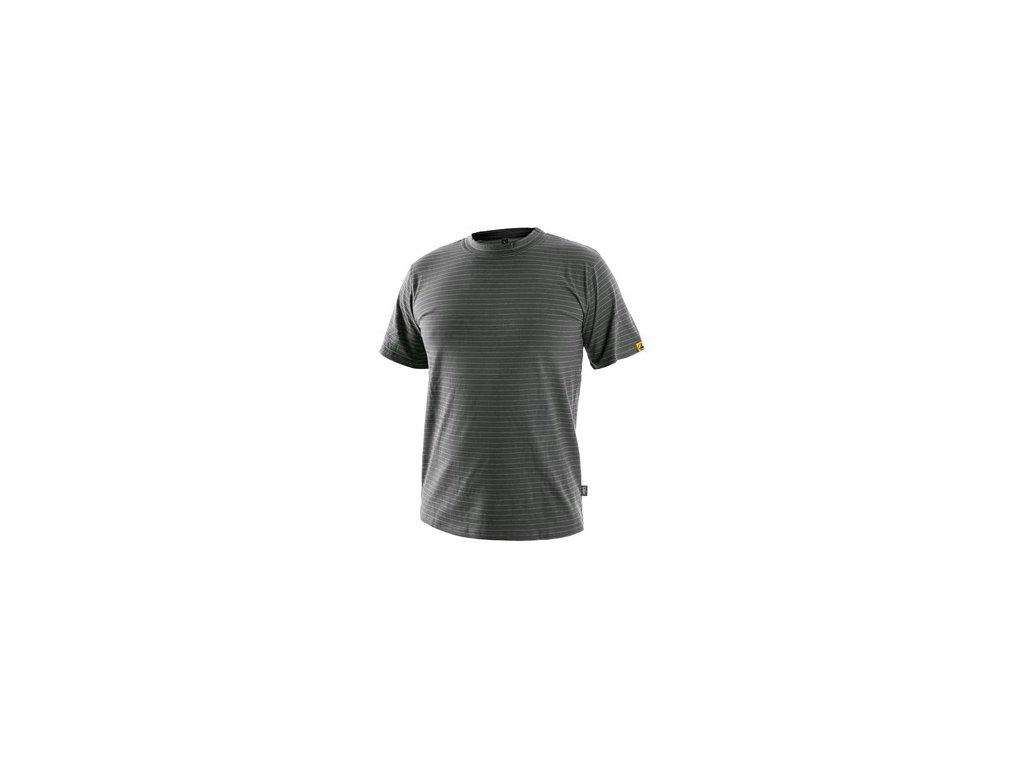 Tričko ESD CXS NOME, antistatické, šedá
